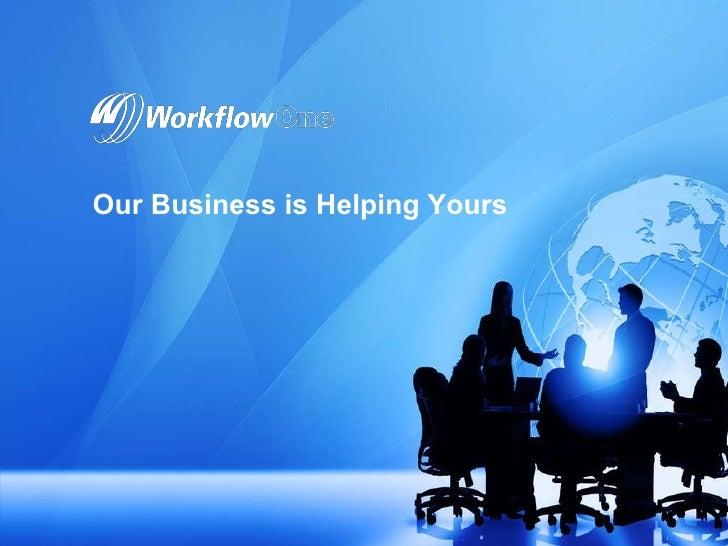 WorkflowOne Solutions