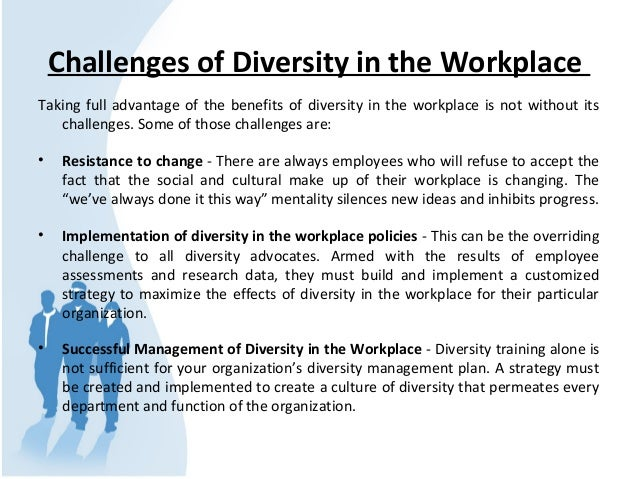 managing diversity in the workplace case studies The centre for workplace leadership is all about bridging the gap between theory, research and practice to deliver knowledge that works to ensure the knowledge really does work we conduct research in real-world situations using case studies to demonstrate how effective leadership practices can drive productivity and to highlight organisations.