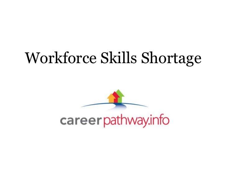 Workforce Skills Shortage