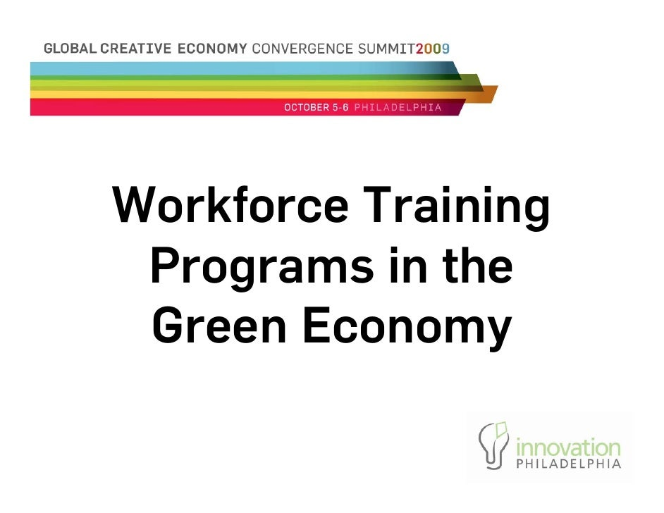 Workforce Training Programs In The Green Economy