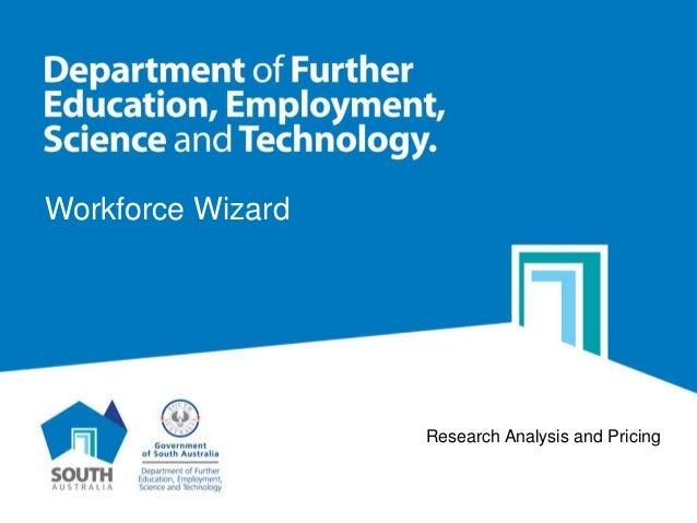 Workforce Wizard presentation by DFEEST