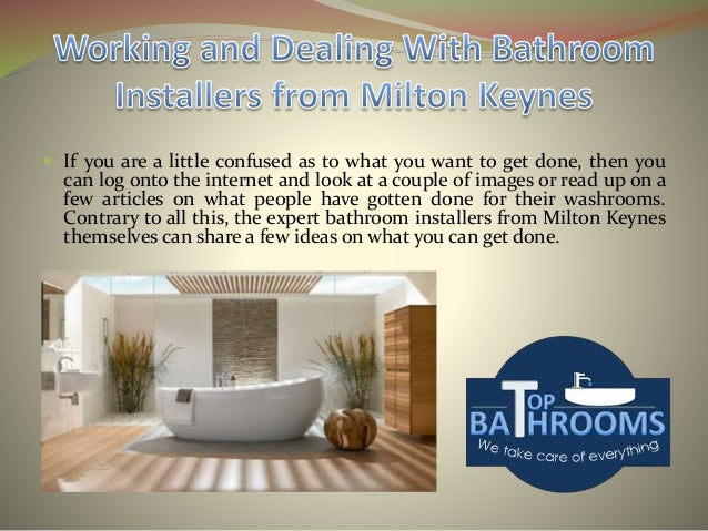 5. Working and Dealing With Bathroom Installers from Milton Keynes
