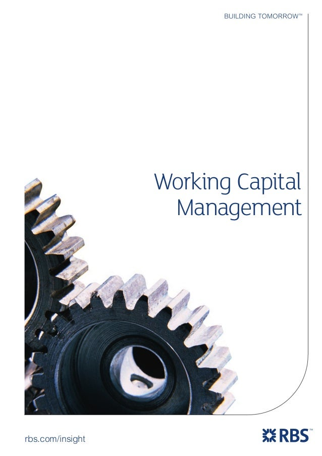 management of working capital Working capital management is one of the most important topics in corporate finance: it relates to the operating investment of a firm and the way managers choose to finance it.
