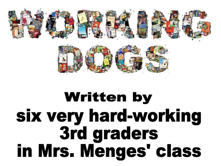 Written by six very hard-working  3rd graders in Mrs. Menges' class