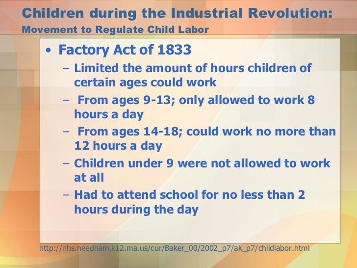 Child Labor in the Industrial Revolution  YouTube