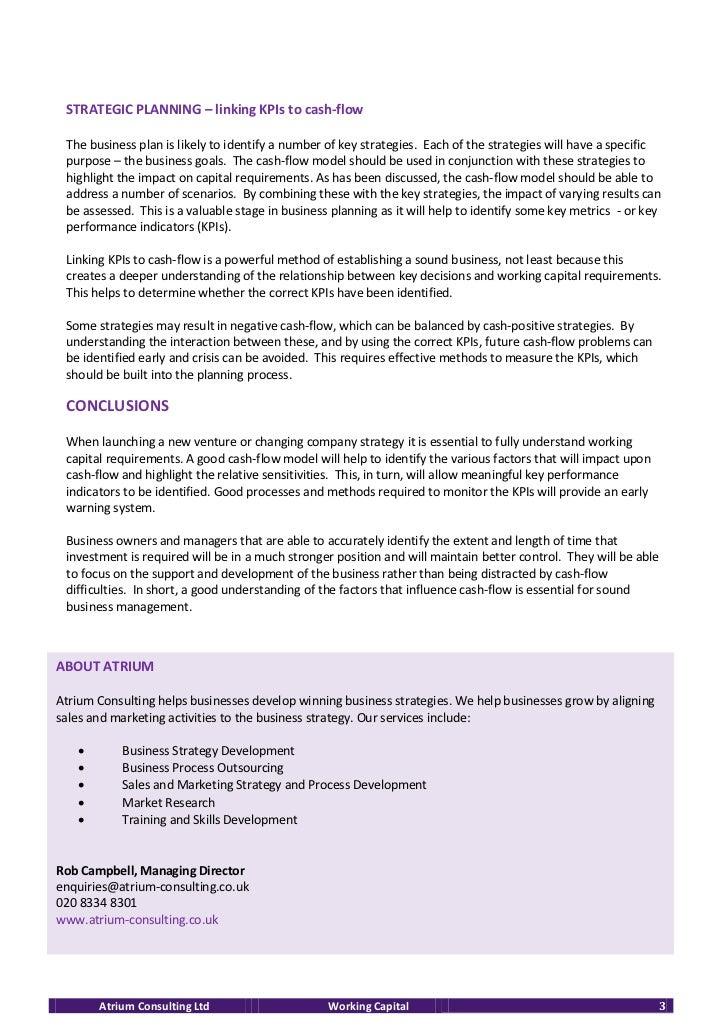 cash flow research paper
