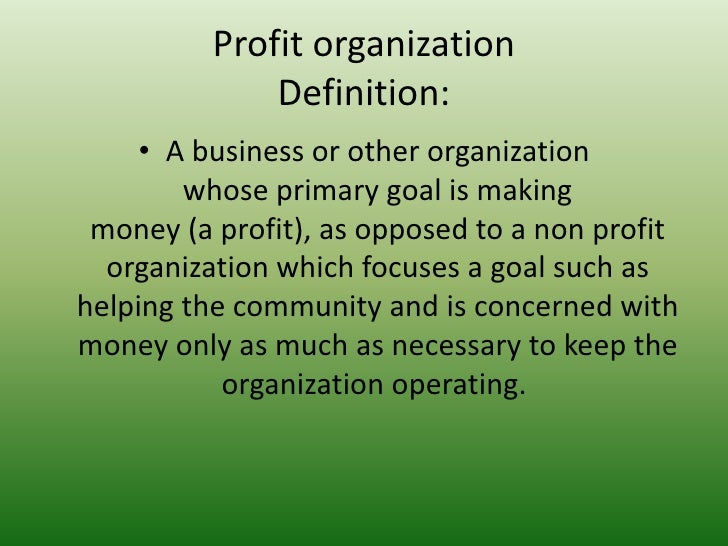 how to create a non profit organisation