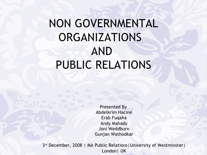 public relation in education sector Made public relations education an of the role of public relations in the nonprofit sector and center's effective public relations.
