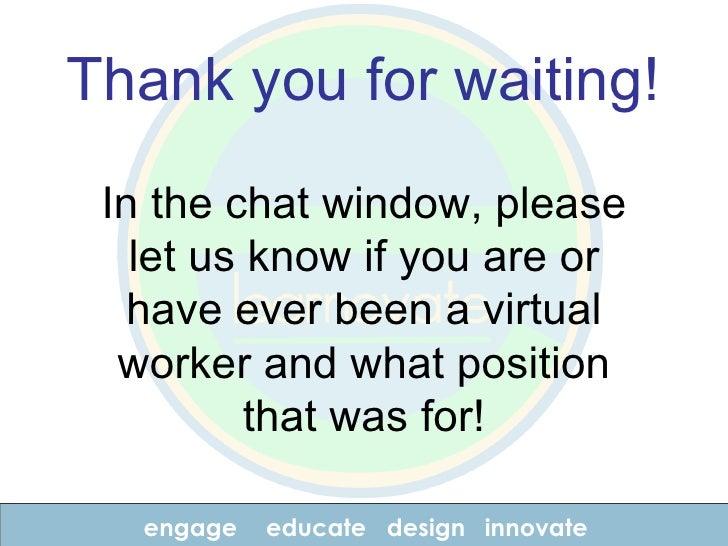 Working In Virtual Teams Webinar