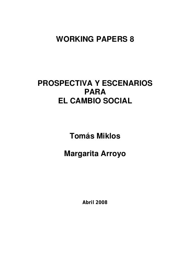 Working papers 8