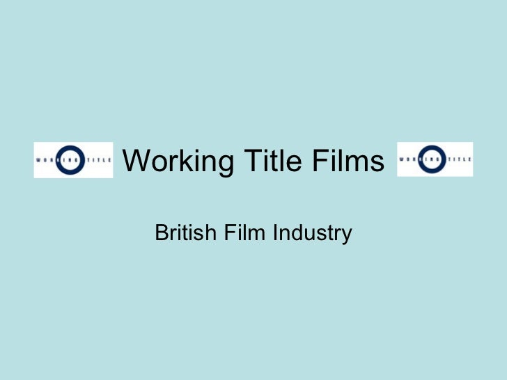 Working title_films