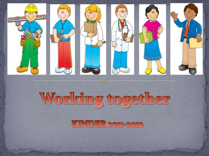 We all do many different jobs to   make our school/community a place    where we can live, learn and play               to...