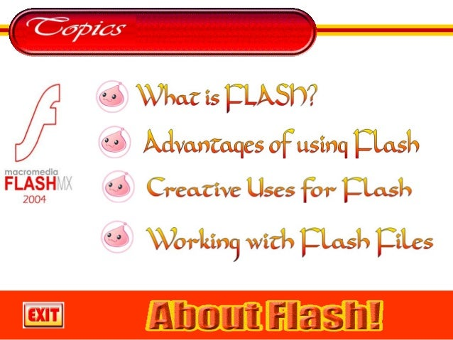 Flash is a vector-based program.