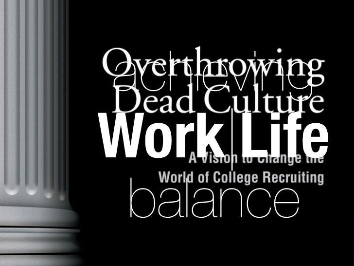 Achieving Work|Life Balance