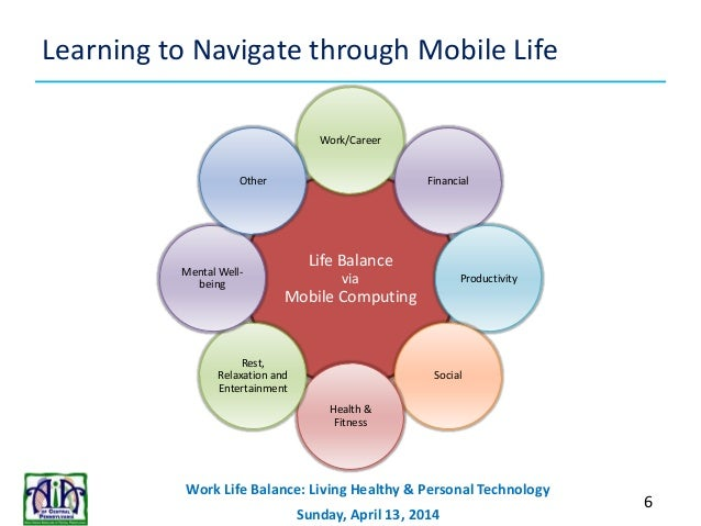 technology & work life balance essay These days, work-life balance can seem like an impossible feat technology makes workers accessible around the.