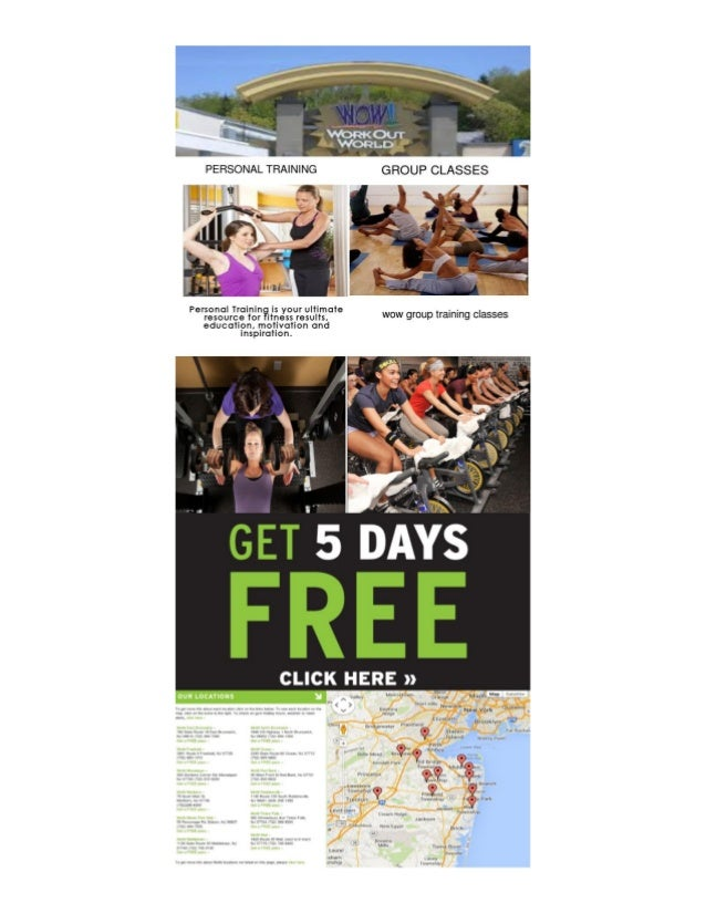 Overview of Work Out World NJ