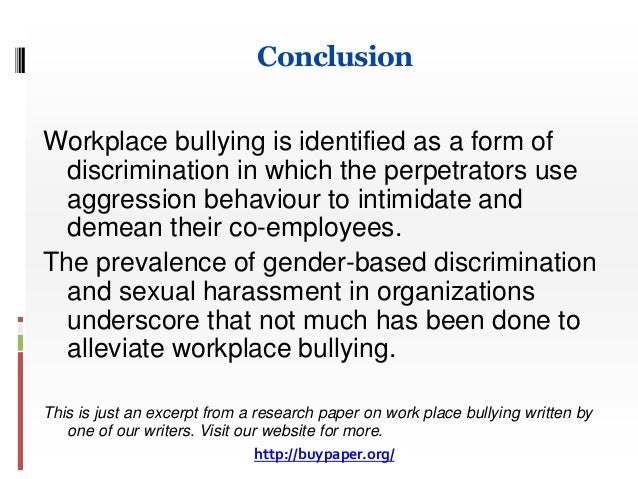 bullying and harassment essay Oh hey im on the phone i will get back to you tomorrow reviewing your brother's essay gabriel school harassment bullying at essays on and december 14, 2017 @ 1.