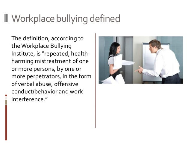 how to avoid workplace bullying