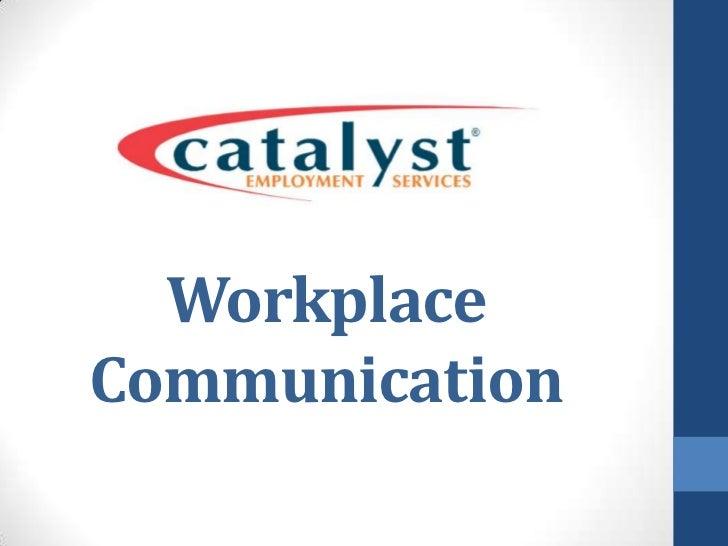 WorkplaceCommunication