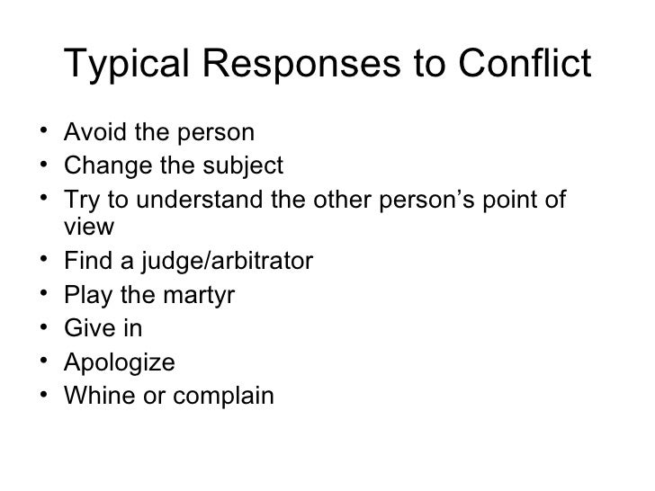 example conflict workplace Conflict is a normal,  workplace, this may lead to disciplin-ary action friends and acquaintances  mutual conflict resolution.