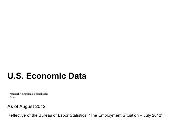 Workplace Economy Slides August 2012
