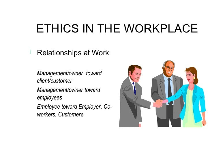 analysis of ethics in the workplace Are confronting has an ethical component and is not solely a marketing or finance  or other kind of problem as a result, they often lack the ability to analyze the.