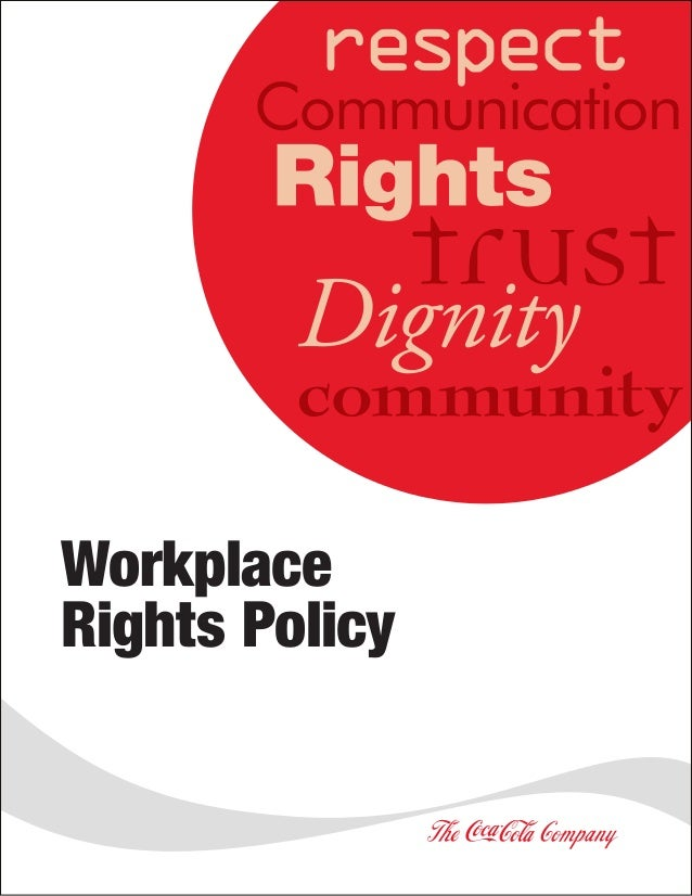 Workplace Rights Policy
