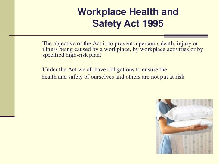 workplace safety and health policy and objectives Workplace safety & loss protect employees from occupational safety and workplace health the following objectives will help us excel in health and.