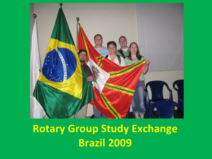 Rotary Group Study Exchange Brazil 2009