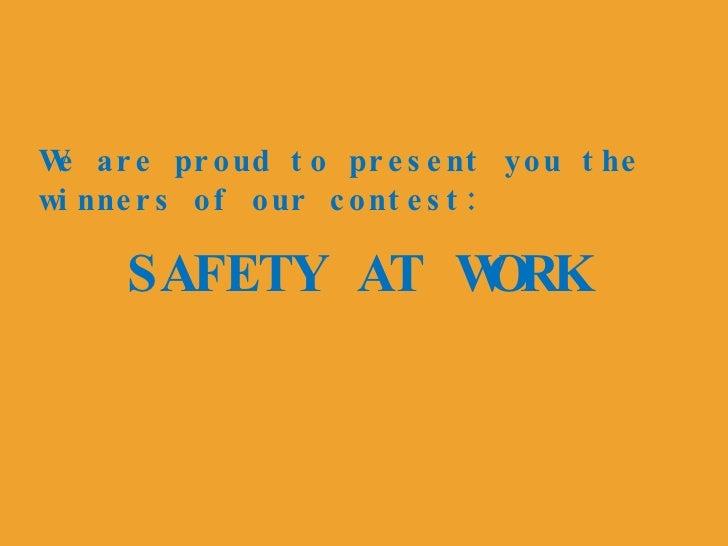 Work Safetymm