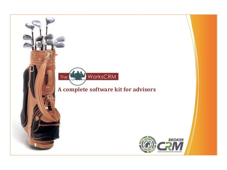 A complete software kit for advisors