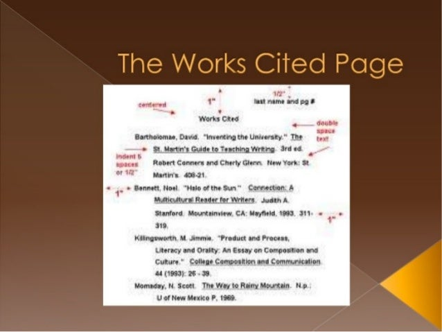 For this class, all of the articles come from the same textbook, so you need to know only one Works Cited entry format: An...