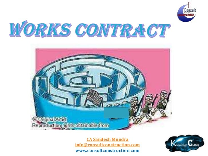 1<br />Works Contract<br />