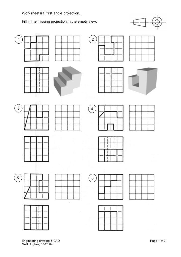 Worksheets Orthographic Projection Worksheet collection of orthographic projection worksheet sharebrowse worksheets beatlesblogcarnival