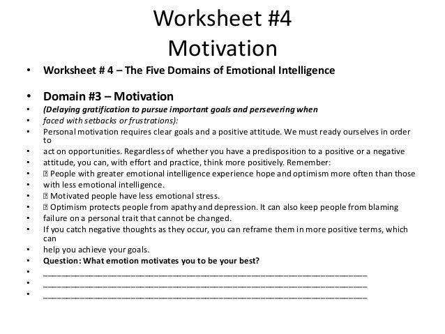 worksheets motivation worksheets opossumsoft worksheets and printables. Black Bedroom Furniture Sets. Home Design Ideas