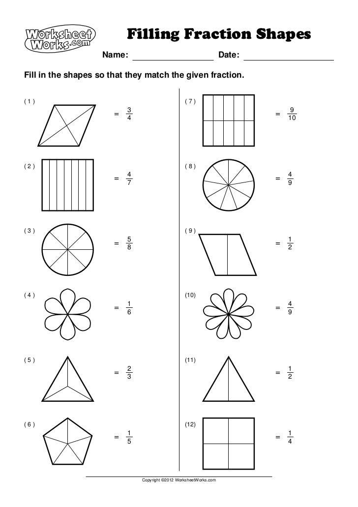 Math Worksheet Works Worksheets For School Getadating – Worksheet Works Fractions