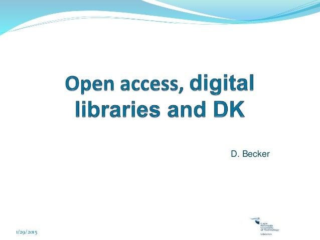Digital library seininar