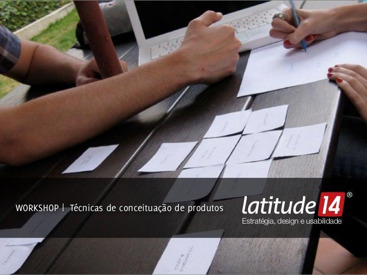 Workshop Mapa de tarefas e Prototipação