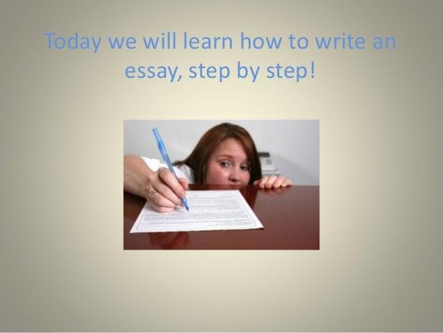 Excel essential skills essay writing step by step