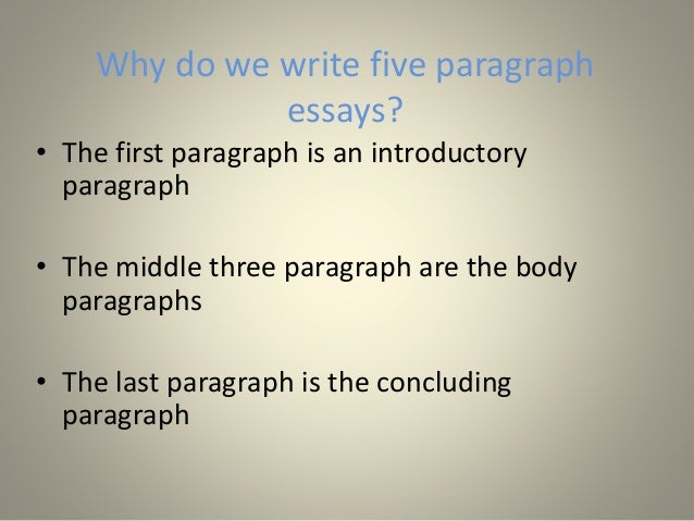Tips for Writing a Five Paragraph Essay for Standardized Tests