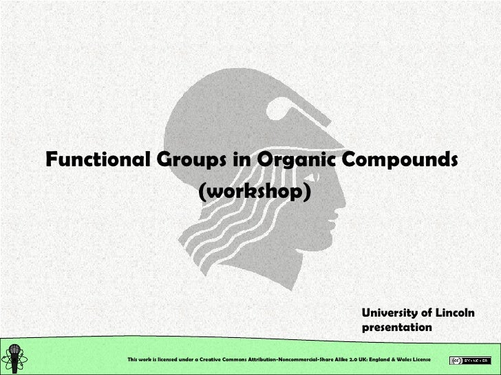 Organic Chemistry: Classification of Organic Compounds: Seminar