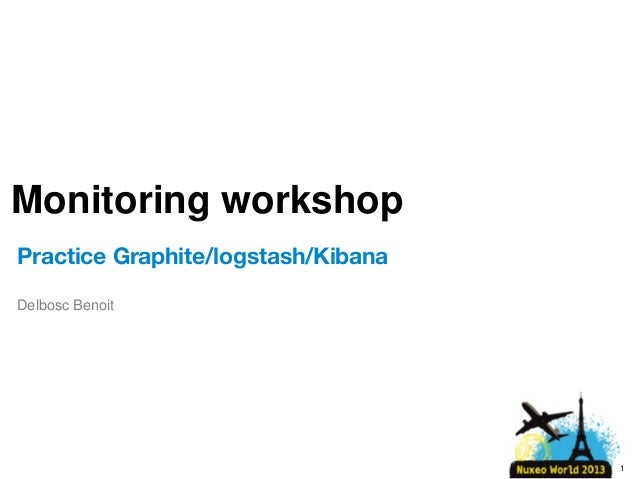 [Nuxeo World 2013] Workshop - Monitoring your Application