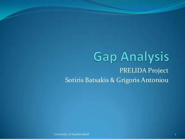 PRELIDA Project Sotiris Batsakis & Grigoris Antoniou University of Huddersfield 1