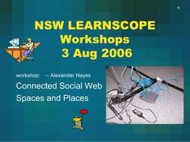 Connections Workshop Aug06