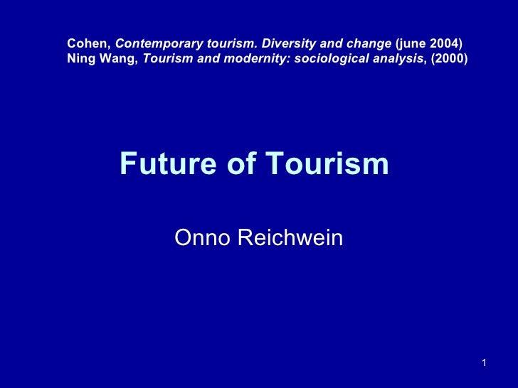 Workshop K3 - The End Of Tourism