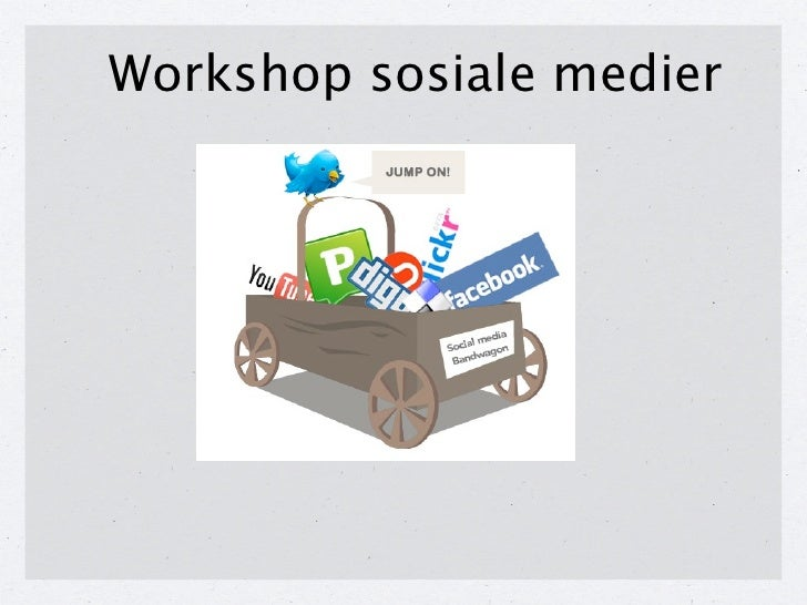 Workshop sosiale medier 1.12.10