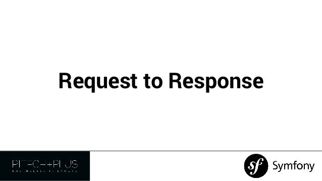 Symfony2 - Request to Response