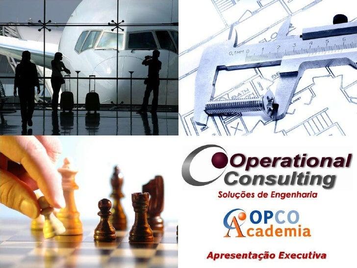 Operational Consulting - Apresentação no 1º Workshop MAQUIJIG - 29 Dezembro 2010