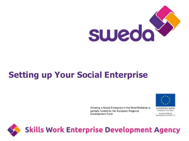 Setting up your social enterprise