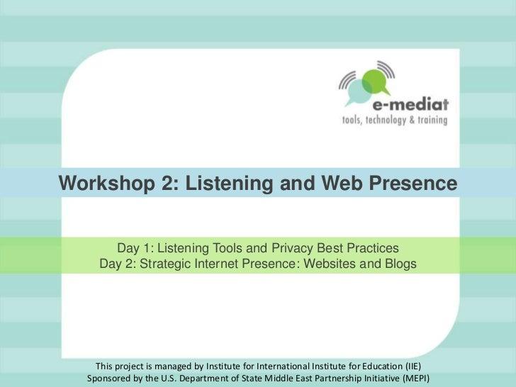 Workshop 2 - PowerPoint Presentation v10